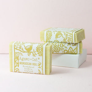 Agnes & Cat Coconut Butter Soap - Moroccan Roll