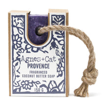 Load image into Gallery viewer, Agnes & Cat Soap on a Rope - Provence