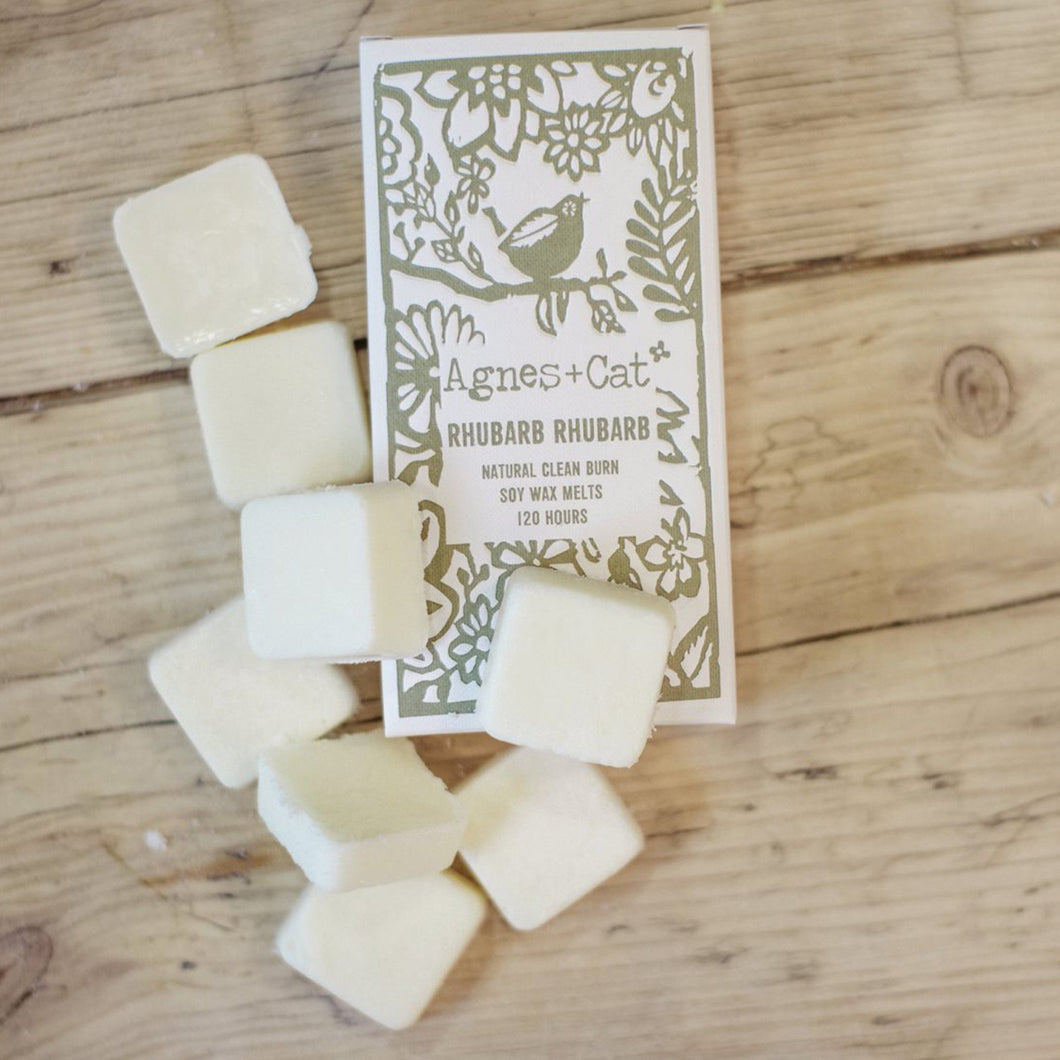 Agnes & Cat Wax Melts - Rhubarb Rhubarb