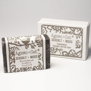Agnes & Cat Coconut Butter Soap - Sea Salt & Moss