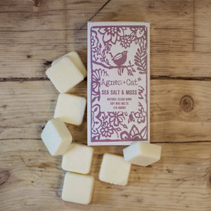 Agnes & Cat Wax Melts - Sea Salt & Moss