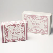 Load image into Gallery viewer, Agnes & Cat Coconut Butter Soap - Tea & Roses