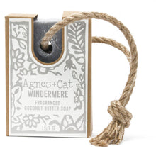 Load image into Gallery viewer, Agnes & Cat Soap on a Rope - Windermere