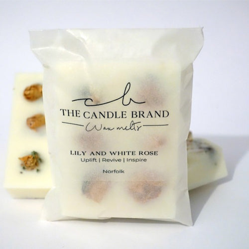 Lily & White Rose <br> Wax Melts <br> by The Candle Brand