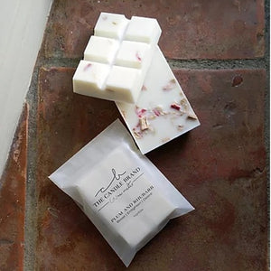 Plum & Rhubarb <br> Wax Melts <br> by The Candle Brand