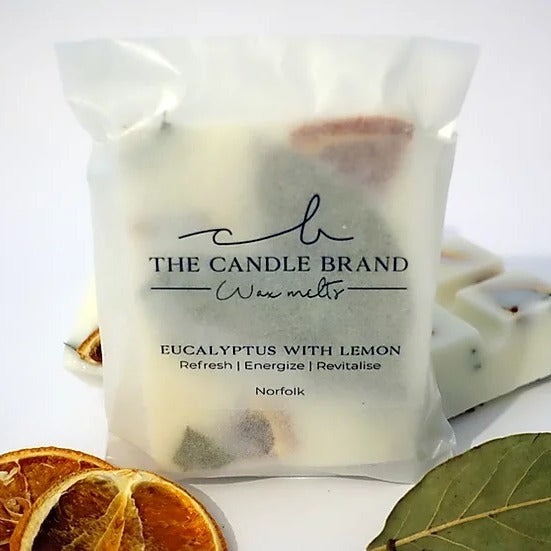 Eucalyptus & Lemon <br> Wax Melts <br> by The Candle Brand