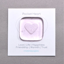 Load image into Gallery viewer, Heart <br>Pocket Gem Keepsake