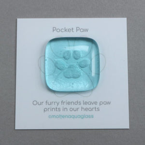 Paw Print <br> Pocket Gem Keepsake