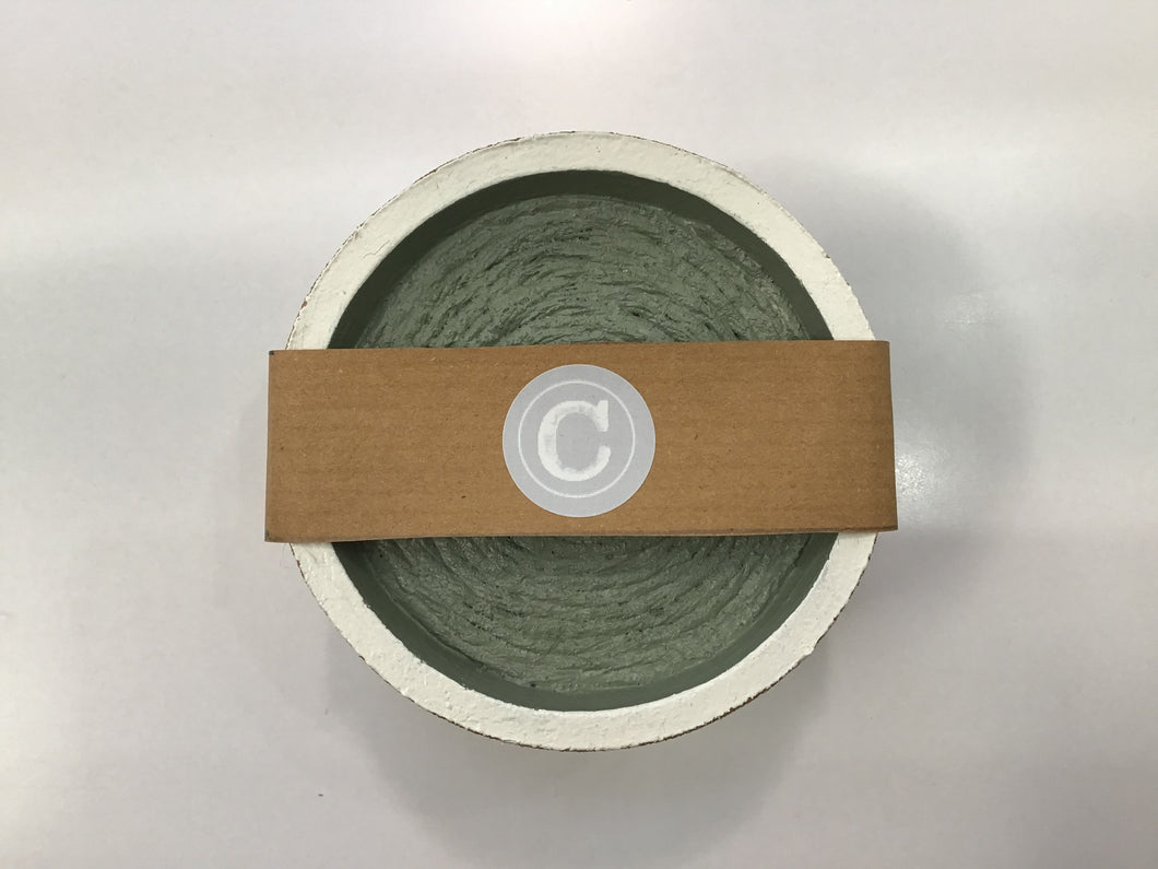 Cork & Twine Coaster Set of 4 - Green