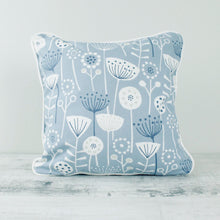 Load image into Gallery viewer, Fabric Cushion Mid-Century Scandi - Blue