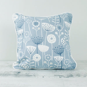 Fabric Cushion Mid-Century Scandi - Blue