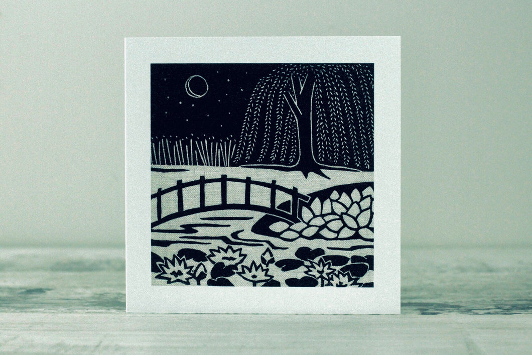 Water Garden <br> Greetings Card
