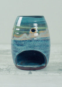 Handmade Ceramic Oil Burner <br> Summer Tide
