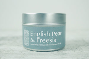 English Pear & Freesia<br>100g Candle Tin