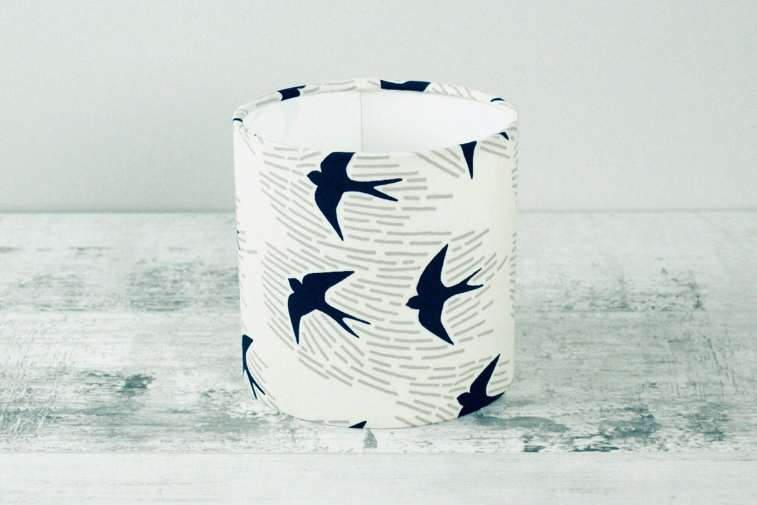 15cm Lampshade <br> Whitehaven Blue