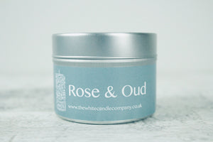 Rose & Oud<br>100g Candle Tin