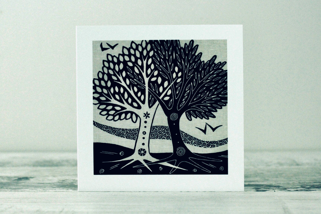 Marriage Trees<br> Greetings Card