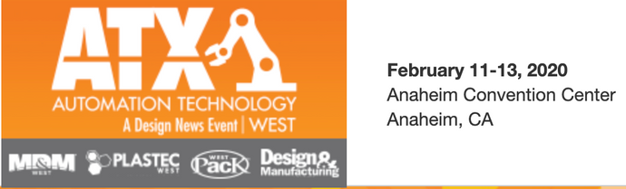 Pay-energy to attend the ATX West show in Anaheim CA  on Feb 2020