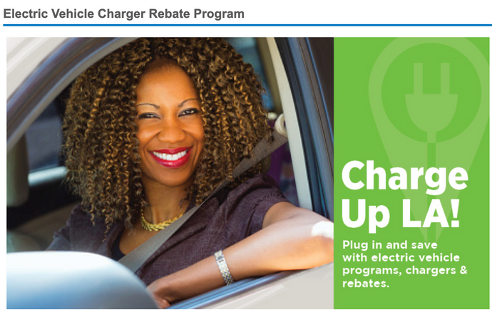 LADWP Electric Vehicle Charger Rebate Program
