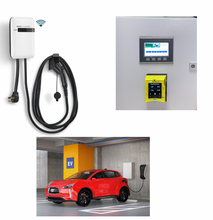 Load image into Gallery viewer, EVoCharge iEVSE, Level 2 EV Charger with Wall-mount Payment Center