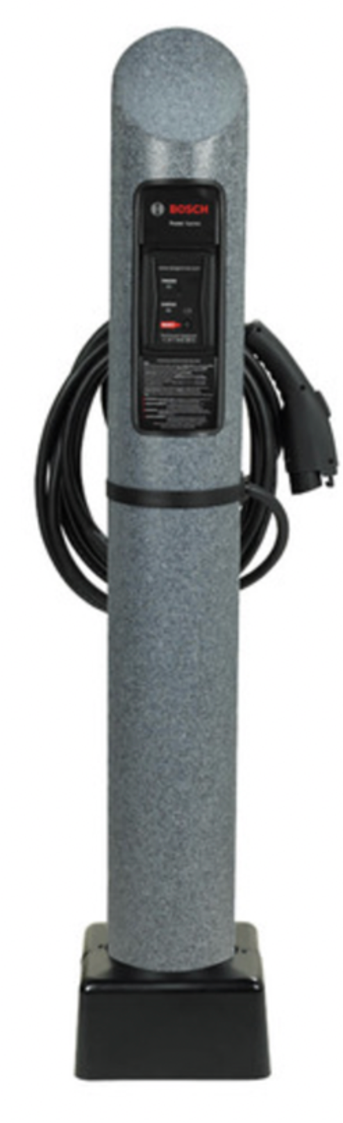 Bosch EV 800  Level 2  EV Charger Bollard  with Central Paystand