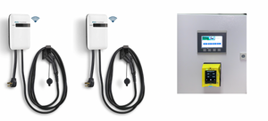 EVoCharge iEVSE, Level 2 EV Charger with Wall-mount Payment Center