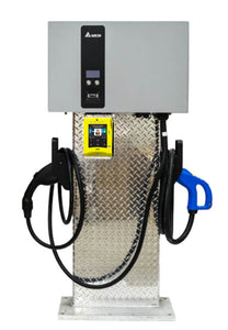 DELTA EV 25KW DC FAST CHARGER DUAL Charger with Credit Card Reader