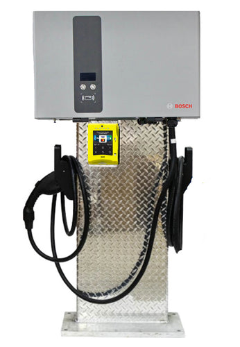 BOSCH EV2000 SERIES DC FAST Charger 240V 25KW Charging Station With Credit Card processing Unit