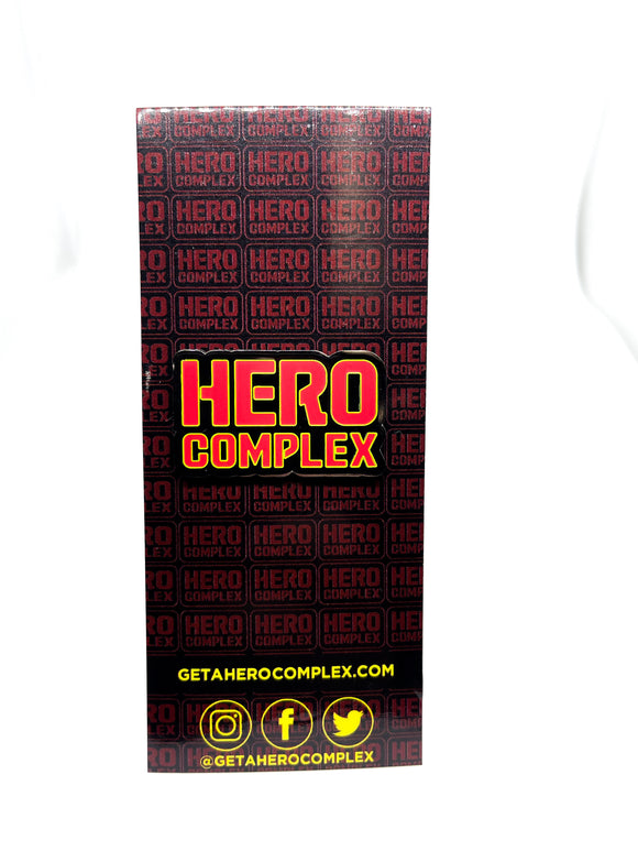 Hero Complex Logo Pin- Red/Black