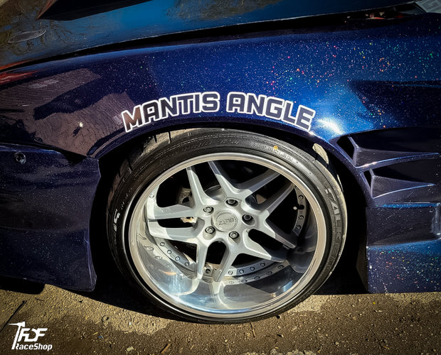 Mantis Angle Fender Sticker