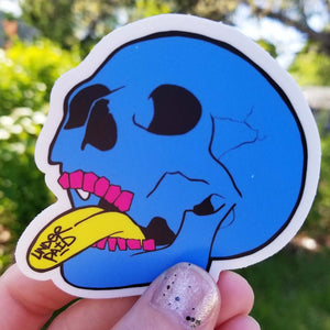Dead Inside Vinyl Sticker