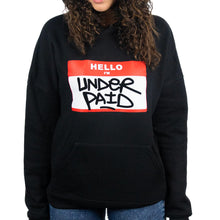 Hello I'm Underpaid Hoodie