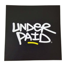 Underpaid Logo Vinyl Sticker