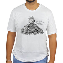 Underpaid Clothing - Time is money T-Shirt Male Model