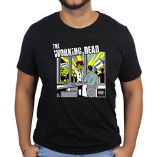 Underpaid Clothing - The Working Dead -Front View- Black Model