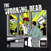 Underpaid Clothing - The Working Dead - Design Up close - Black