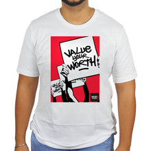 Underpaid Clothing Value Your Worth T-Shirt