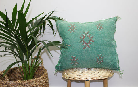 Cactus Silk Cushion Cover