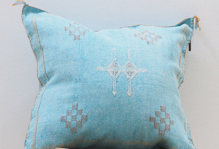 Cacutus Silk Cushion Cover