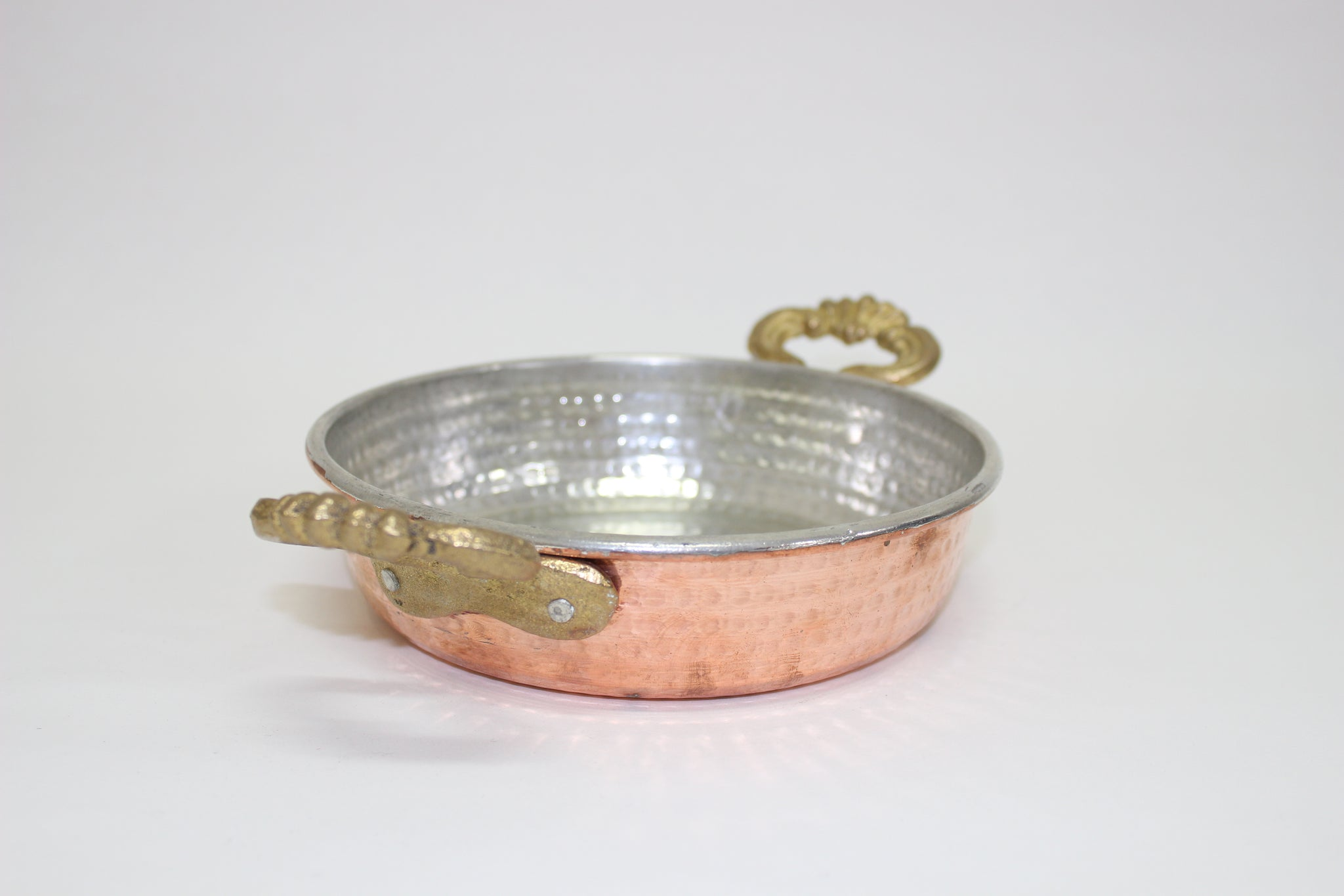 "Turkish Copper Serving Dish ""Pan"""