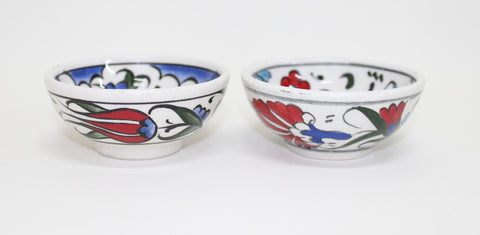 Set of 2 Small Handmade Bowls