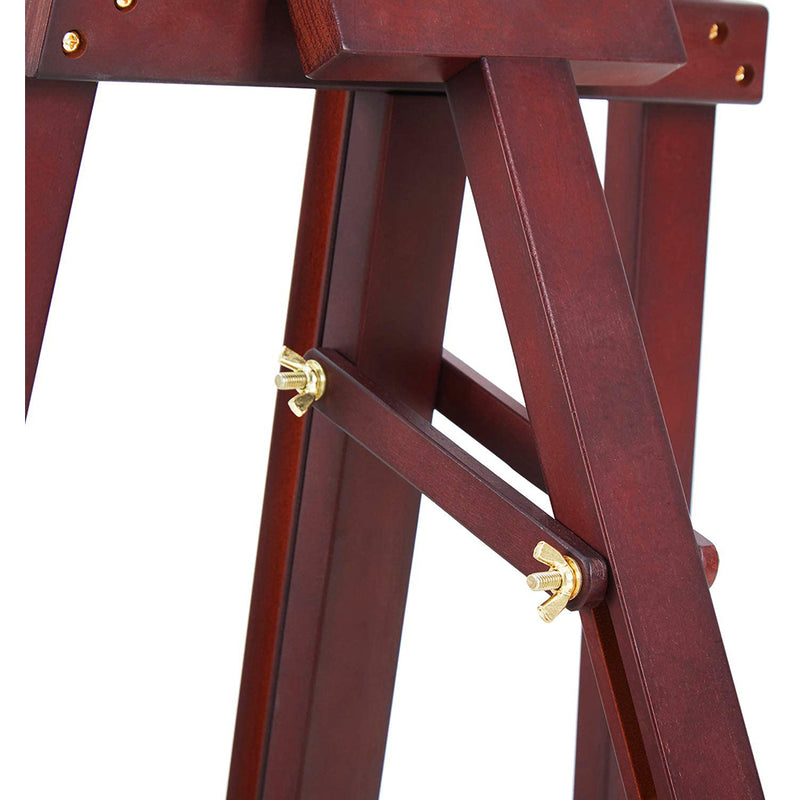 Basic Lyre Studio Easel, Solid Beech Wood Artist Easel for Painting