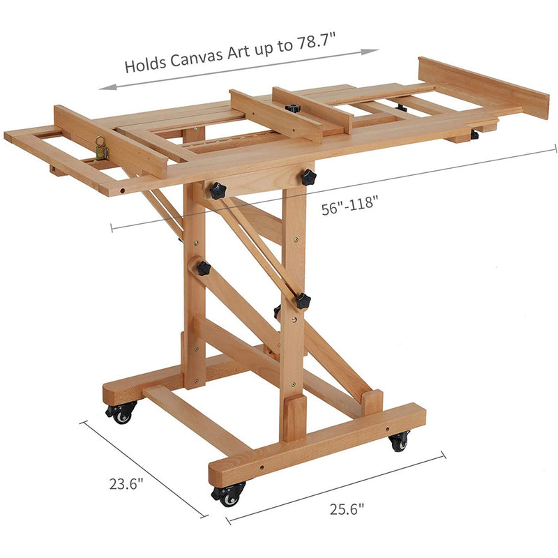 Movable  Muti-Function Studio Easel