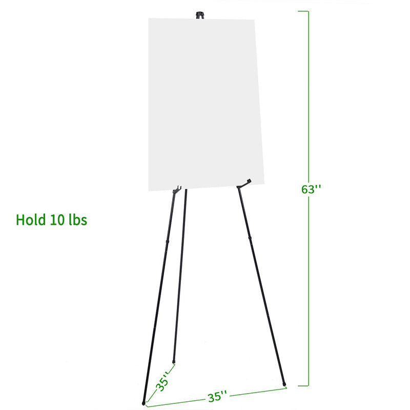 2-Pack Steel Folding Tripod Display Easel