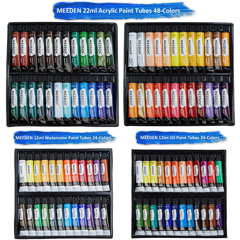 145 Piece Deluxe Artist Painting Set with French Easel