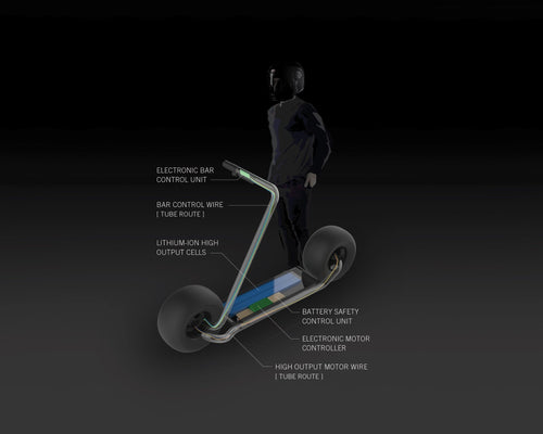 A New Generation Of Intelligent Electric Skateboards