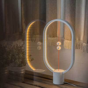 Balance Lamp Intelligent Balanced Magnetic Vacuum Half-Empty LED Light