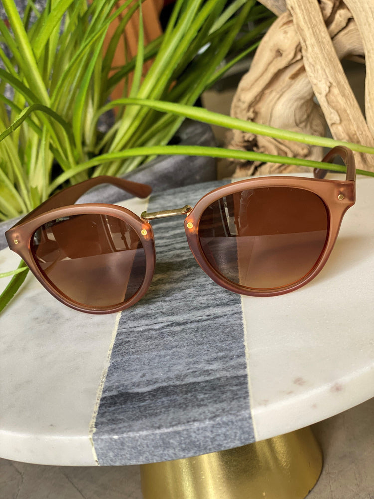 Load image into Gallery viewer, SAN FRANCISCO SUNGLASSES IN MINK