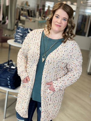 Load image into Gallery viewer, CHENILLE CONFETTI CARDIGAN