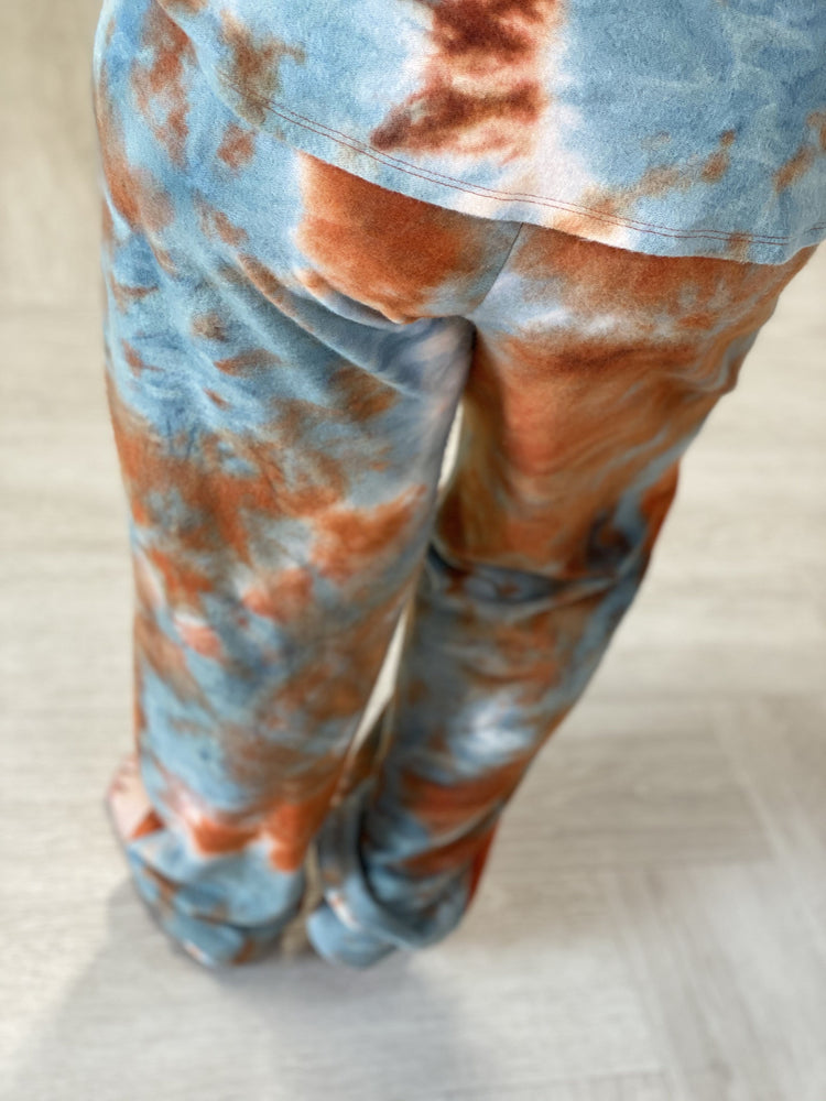 Load image into Gallery viewer, COZY CITRUS TIE DYE JOGGER